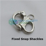 Fixed Snap Shackles,