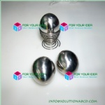 stainless steel eggs