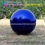 large custom metal colorful decorative spheres