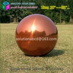 large custom metal colorful handmade spheres