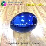 large custom metal colorful home decor spheres